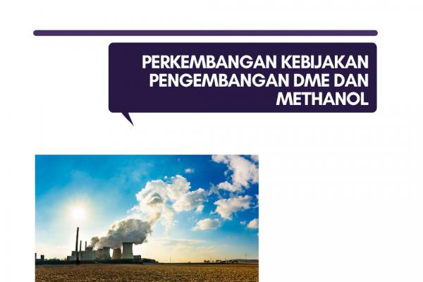 Perkembangan Kebijakan Pengembangan DME dan Methanol